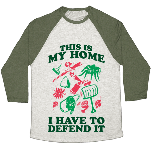 This is My Home Baseball Tee