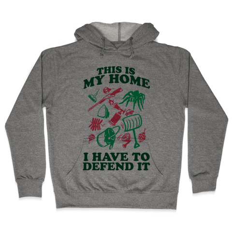 This is My Home Hooded Sweatshirt
