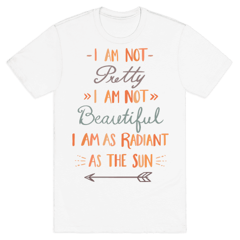 Radiant as the Sun Mens T-Shirt