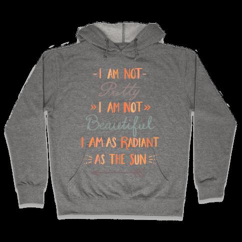 Radiant as the Sun Hooded Sweatshirt
