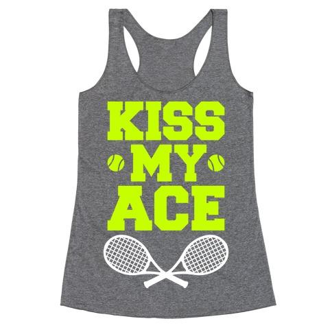 Kiss My Ace Racerback Tank Top