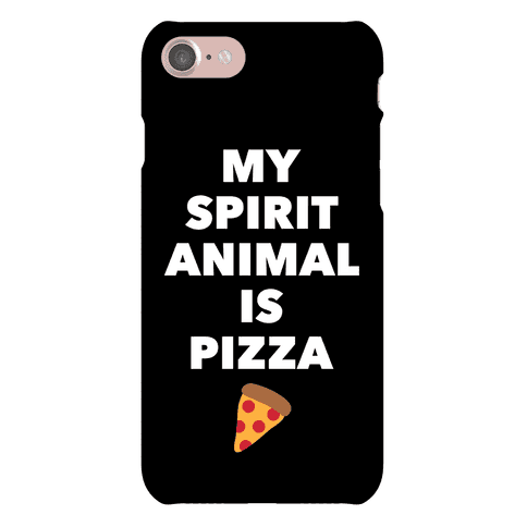 Pizza Spirit Animal Phone Case