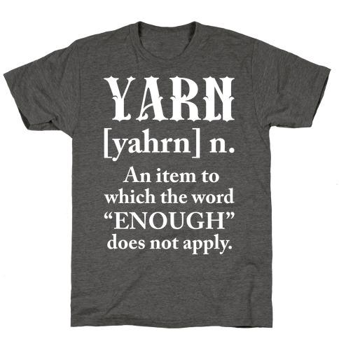 Yarn Definition T-Shirt