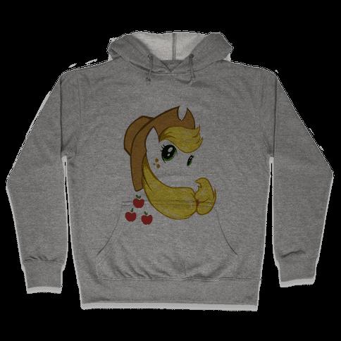 The Apple Lovin' Pony Hooded Sweatshirt