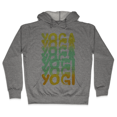 Yoga Into A Yogi Hooded Sweatshirt