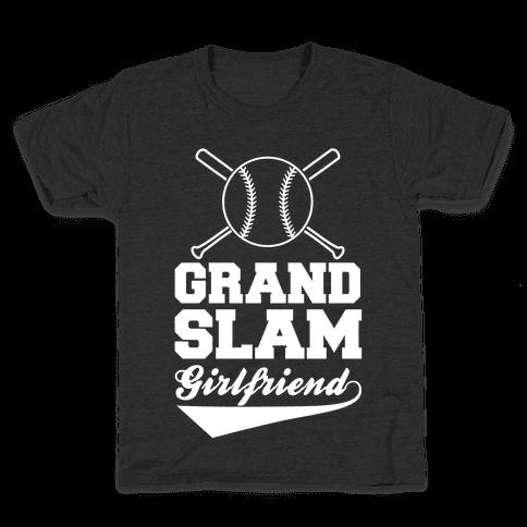 Grand Slam Girlfriend Kids T-Shirt