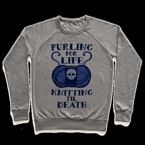 Knitting til Death Pullover