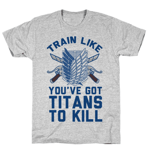 Titans To Kill Mens T-Shirt