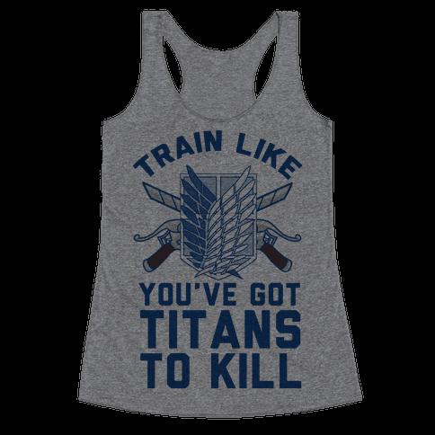 Titans To Kill Racerback Tank Top