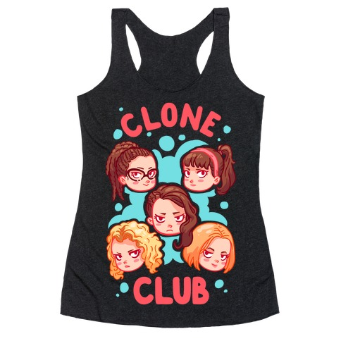 Clone Club Cuties Parody Racerback Tank Top