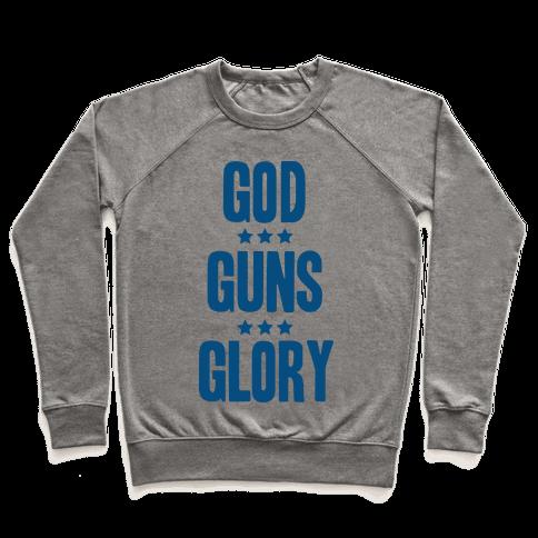 GOD GUNS GLORY Pullover