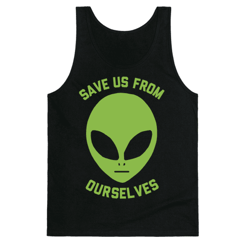 Save Us From Ourselves Tank Top