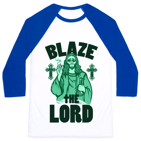 Blaze the Lord Baseball Tee