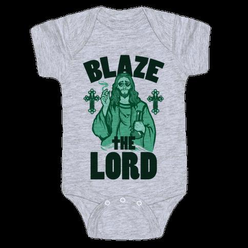 Blaze the Lord Baby Onesy
