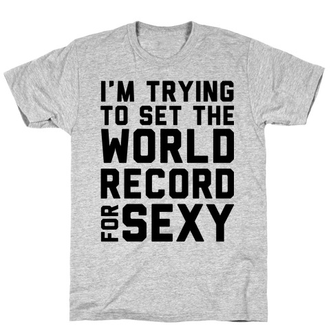 World Record for Sexy T-Shirt