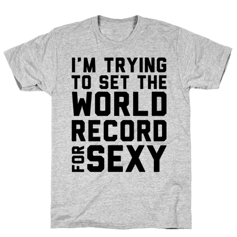 World Record for Sexy Mens T-Shirt