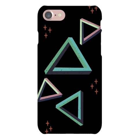 The Impossible Triangle Phone Case