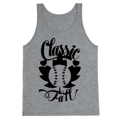 Classic Fall (Baseball World Series) Tank Top