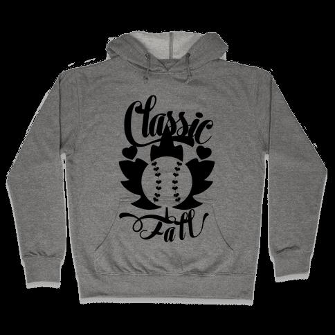 Classic Fall (Baseball World Series) Hooded Sweatshirt