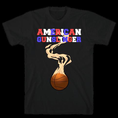 American Gunslinger Mens T-Shirt