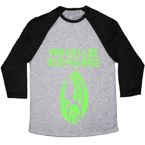 Borg - You Will Be Assimilated Baseball Tee