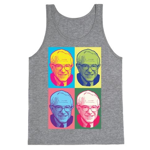Pop Art Bernie Sanders Tank Top