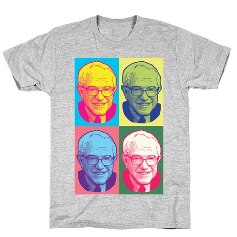 Pop Art Bernie Sanders T-Shirt