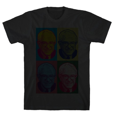 Pop Art Bernie Sanders Mens T-Shirt