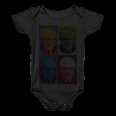 Pop Art Bernie Sanders Baby Onesy