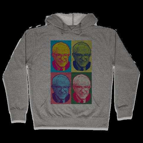 Pop Art Bernie Sanders Hooded Sweatshirt