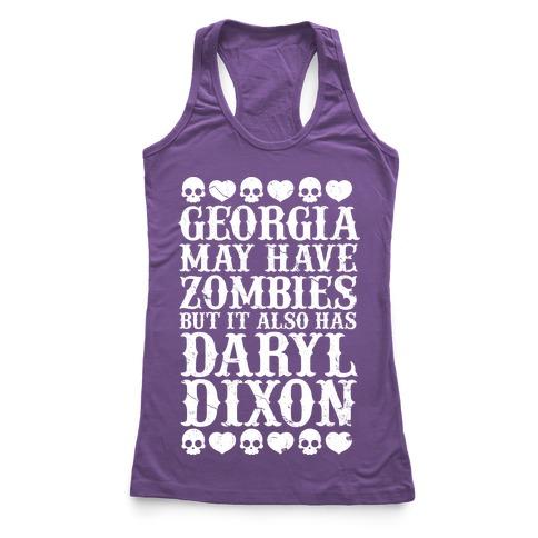 Georgia Has Daryl Dixon Racerback Tank Top