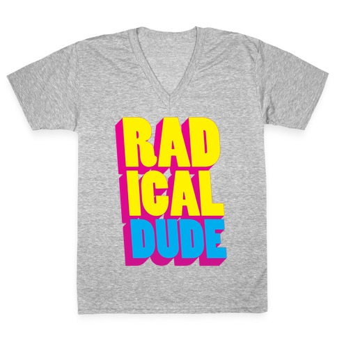Radical Dude V-Neck Tee Shirt