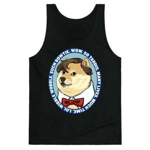 The Doctor Doge Tank Top