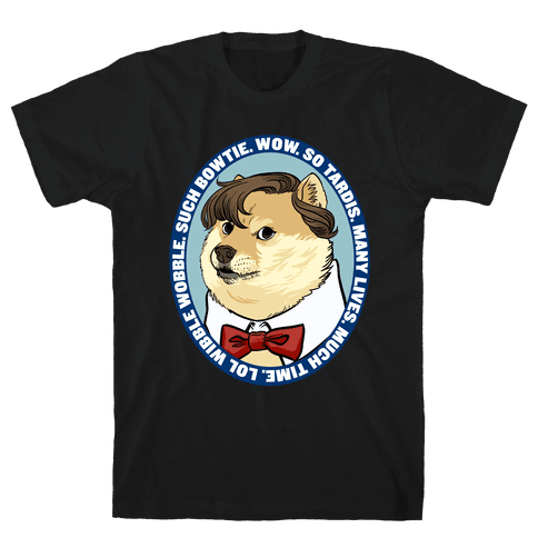 The Doctor Doge Mens T-Shirt