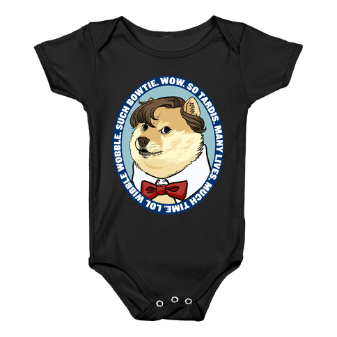 The Doctor Doge Baby Onesy