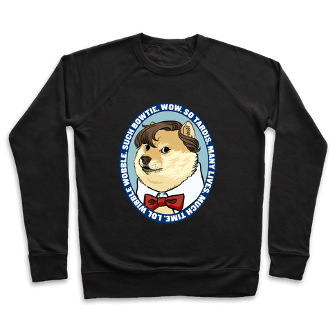 The Doctor Doge Pullover