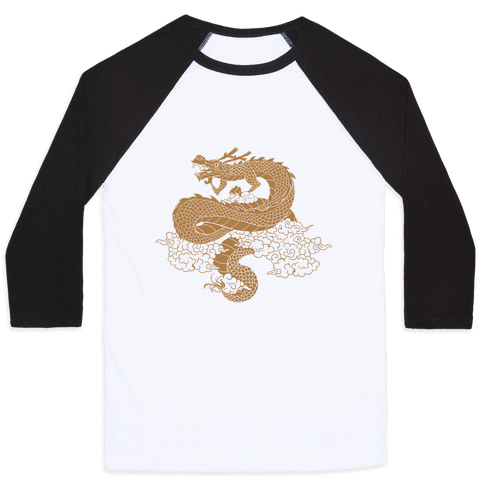 The Year of the Dragon 2012 Baseball Tee