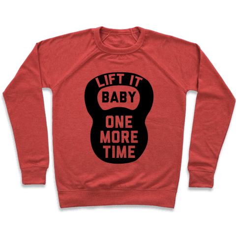 Lift It Baby Pullover