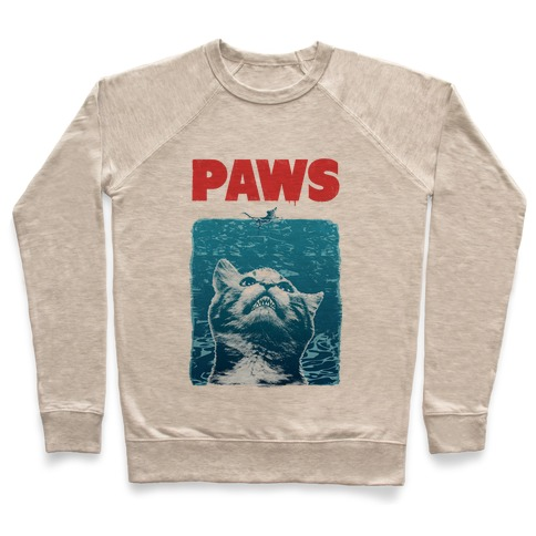 PAWS (Jaws Parody tee) Pullover