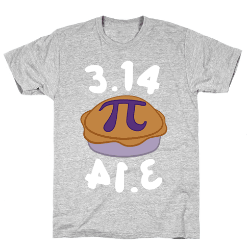 3.14 = PIE Mens T-Shirt