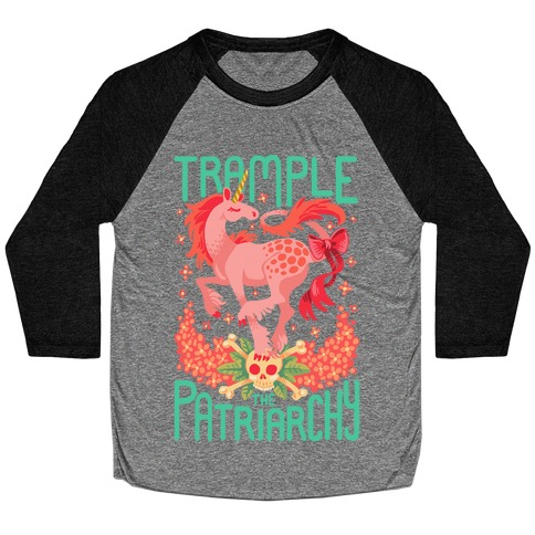 Trample The Patriarchy Baseball Tee