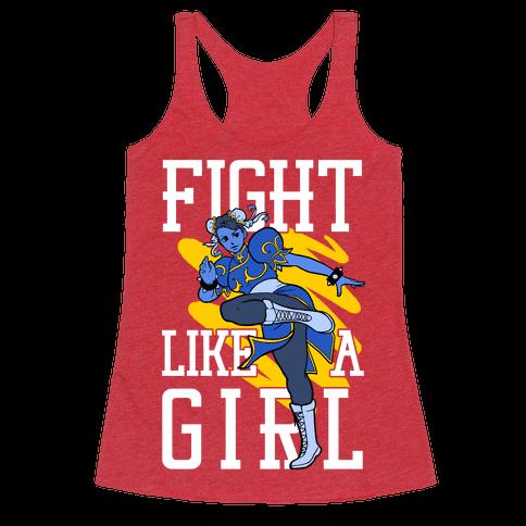 Fight Like a Girl Chun Li Parody