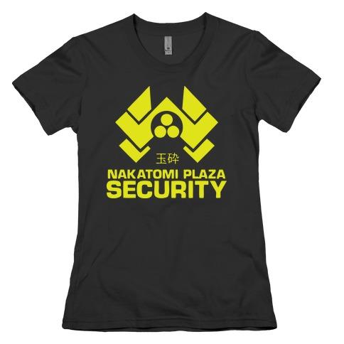 Nakatomi Plaza Security Womens T-Shirt