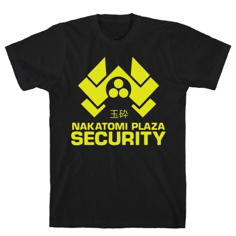 Nakatomi Plaza Security Mens T-Shirt
