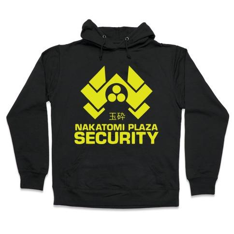 Nakatomi Plaza Security Hooded Sweatshirt