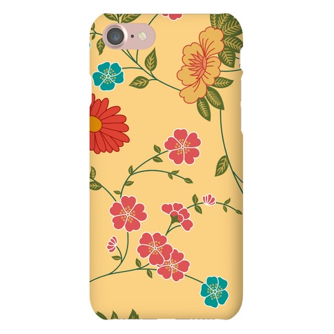 Pretty Floral Pattern Case Phone Case