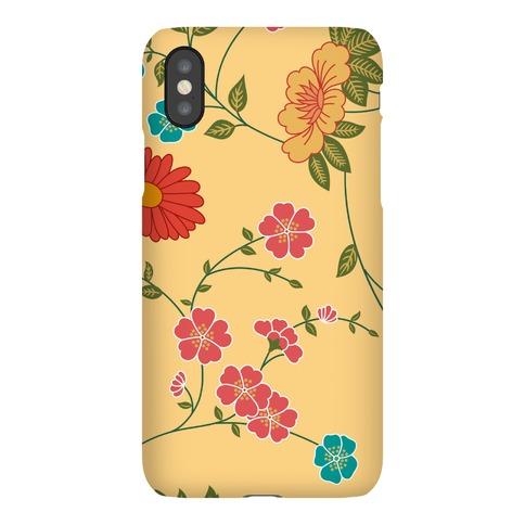 Pretty Floral Pattern Case Phone Case