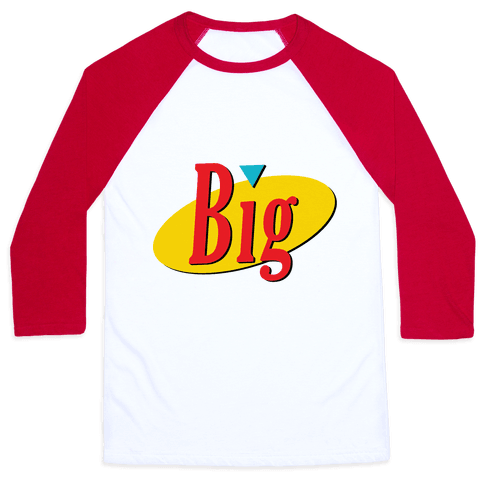 Big Seinfeld Baseball Tee