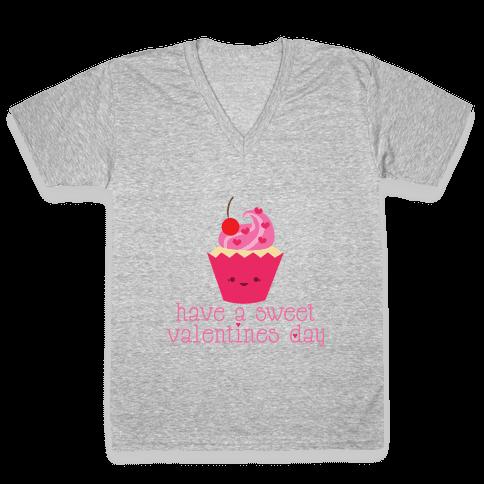 So Sweet V-Neck Tee Shirt