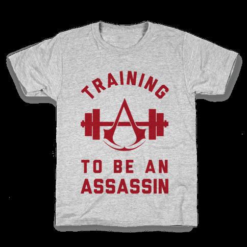 Training To Be An Assassin Kids T-Shirt